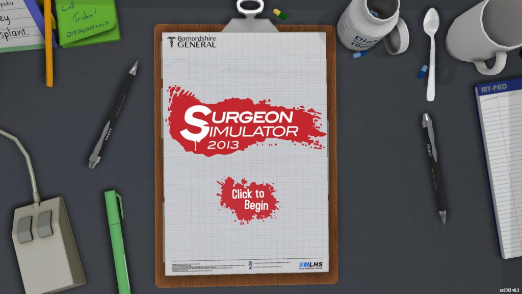 Surgeon Simulator 2013 Game Review