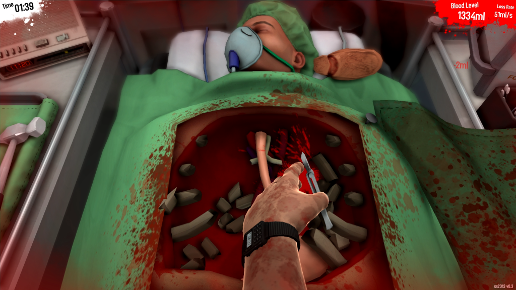 Surgeon Simulator game