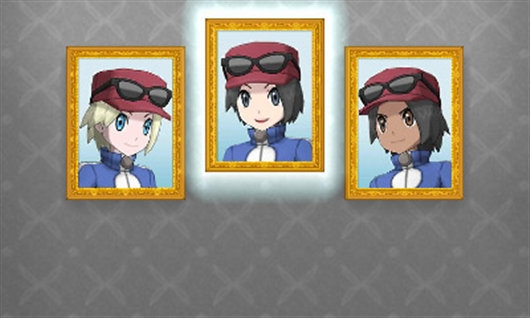 Pokemon Male Character Customization